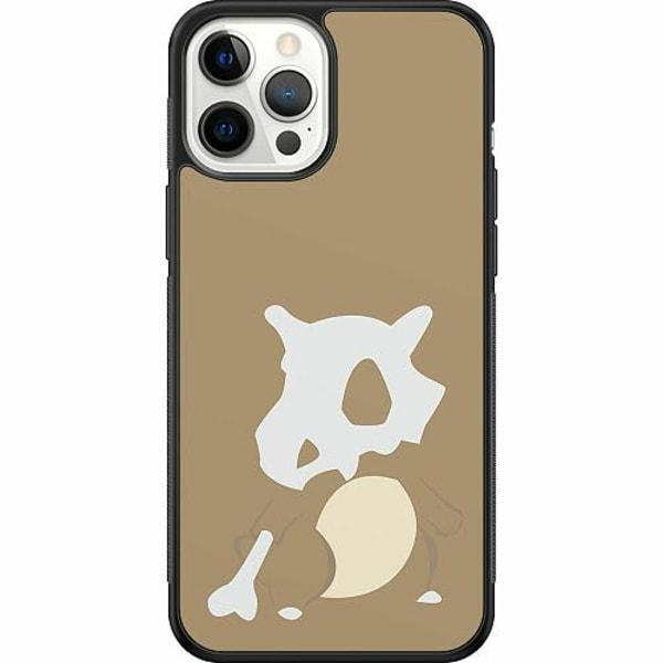 Apple iPhone 12 Pro Max Soft Case (Svart) Pokémon - Cubone