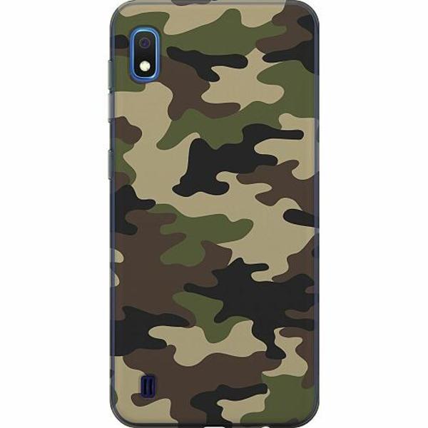 Samsung Galaxy A10 TPU Mobilskal Woodland Camo