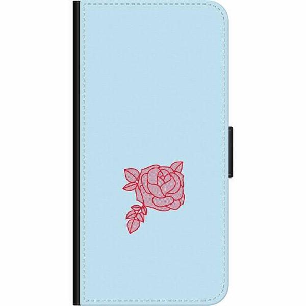 Samsung Galaxy A50 Wallet Case Rose