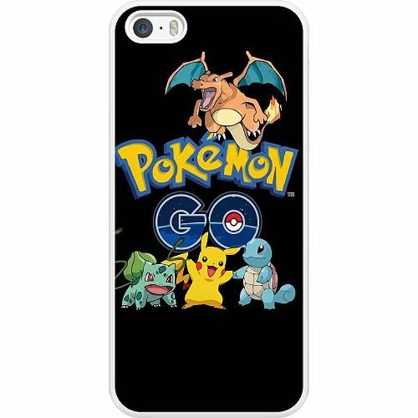 Apple iPhone 5 / 5s / SE Hard Case (Vit) Pokemon
