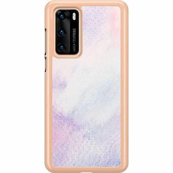 Huawei P40 Hard Case (Clear) Frosted Frost