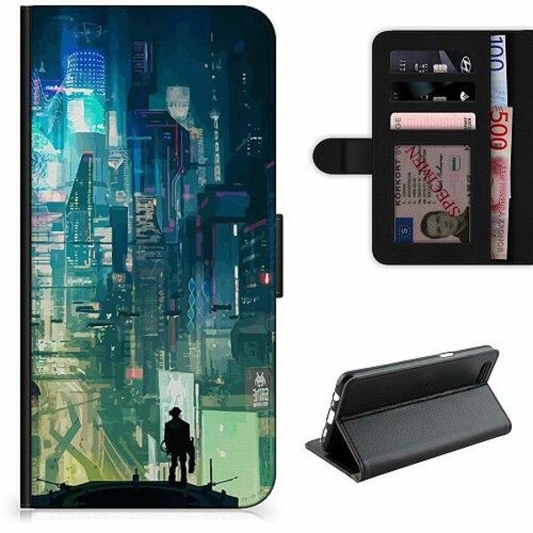 Apple iPhone 12 mini Lyxigt Fodral Cyberpunk 2077
