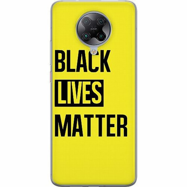 Xiaomi Poco F2 Pro TPU Mobilskal Black Lives Matter