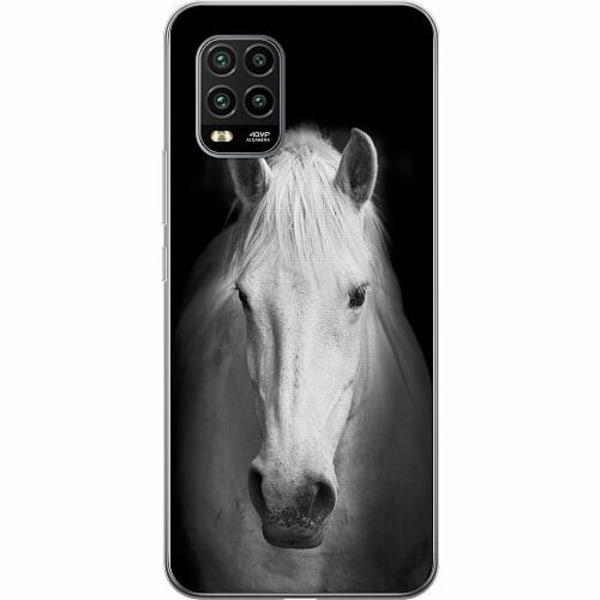 Xiaomi Mi 10 Lite TPU Mobilskal Vit Häst