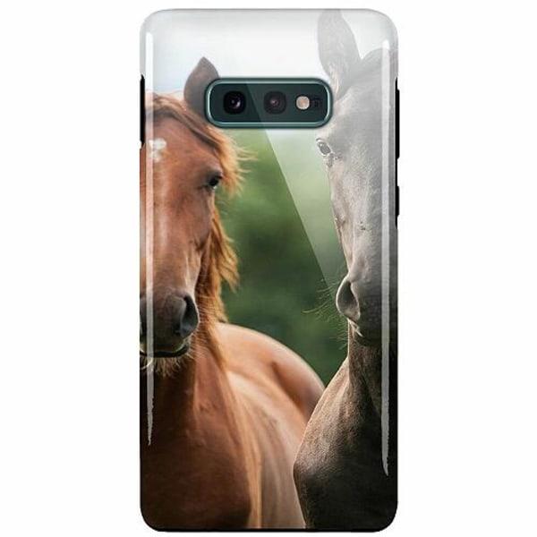 Samsung Galaxy S10e LUX Duo Case (Glansig)  Häst / Horse