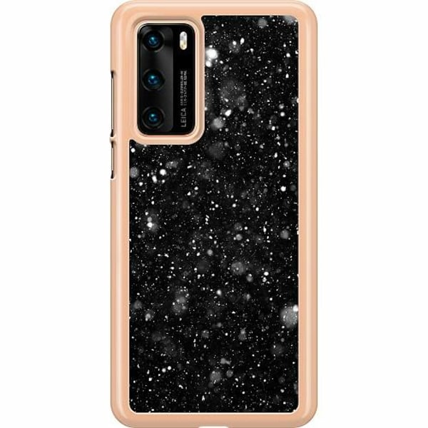 Huawei P40 Hard Case (Clear) Galactic