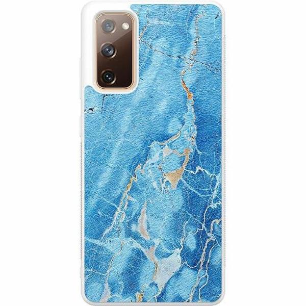 Samsung Galaxy S20 FE Soft Case (Vit) Marmor