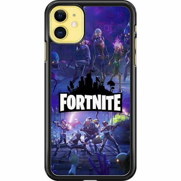 Apple iPhone 11 Hard Case (Svart) Fortnite Gaming