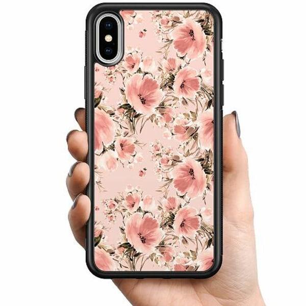Apple iPhone XS Max Billigt mobilskal - Blommor