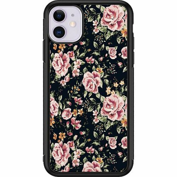 Apple iPhone 11 Billigt mobilskal - Flowers
