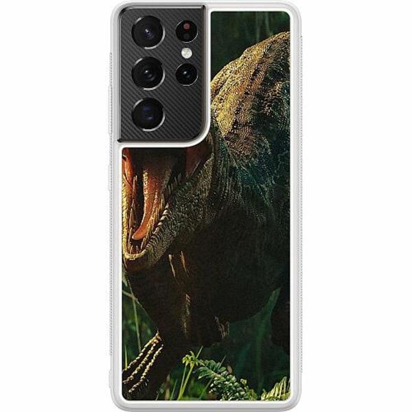 Samsung Galaxy S21 Ultra Soft Case (Frostad) Dinosaurier