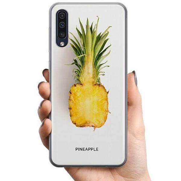 Samsung Galaxy A50 TPU Mobilskal Pineapple