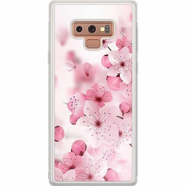Samsung Galaxy Note 9 Soft Case (Frostad) Cherry Blossom