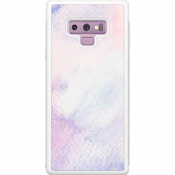 Samsung Galaxy Note 9 Soft Case (Vit) Frosted Frost
