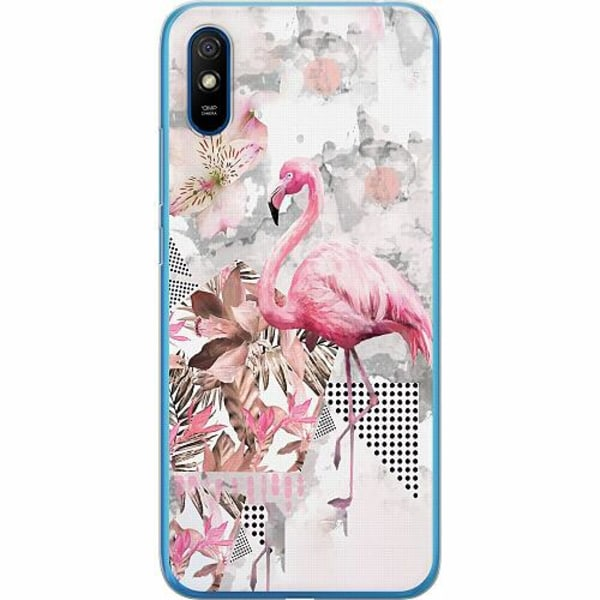 Xiaomi Redmi 9A Thin Case Flamingo