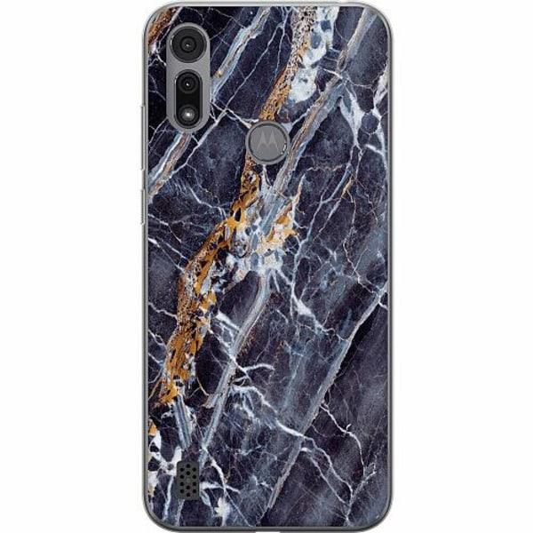 Motorola Moto E6i Thin Case Marmor