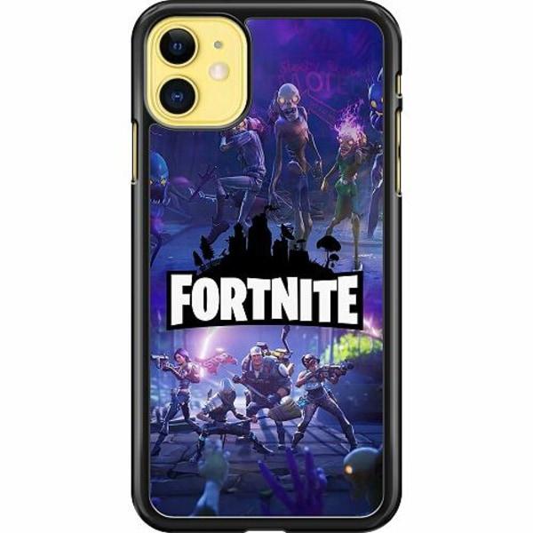 Apple iPhone 11 Hard Case (Svart) Fortnite