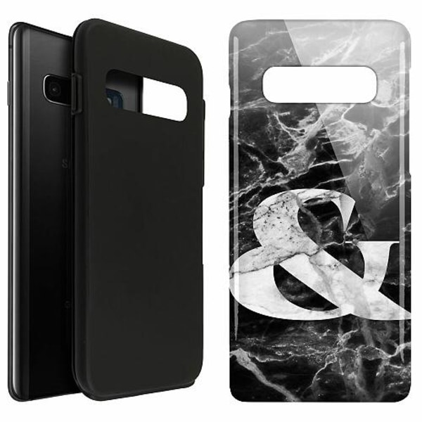 Samsung Galaxy S10 Plus LUX Duo Case (Glansig)  Marmor