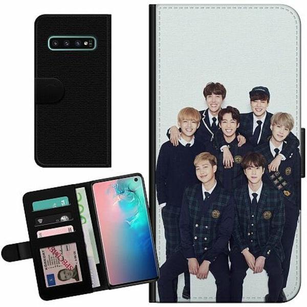 Samsung Galaxy S10 Billigt Fodral K-POP BTS