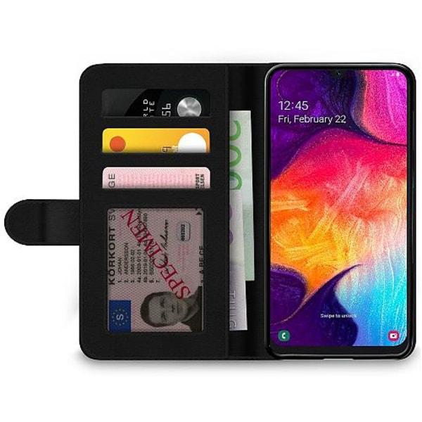 Samsung Galaxy A50 Wallet Case Fashion