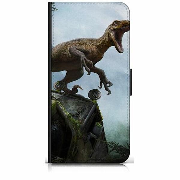 Huawei Y6 (2018) Plånboksfodral Dinosaurier