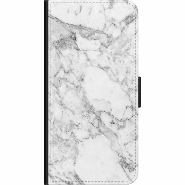 Samsung Galaxy A50 Wallet Case Marmor Vit