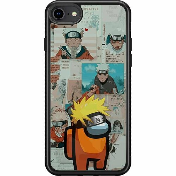 Apple iPhone 7 Soft Case (Svart) Naruto