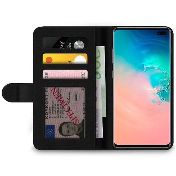 Samsung Galaxy S10 Plus Wallet Case MineCraft