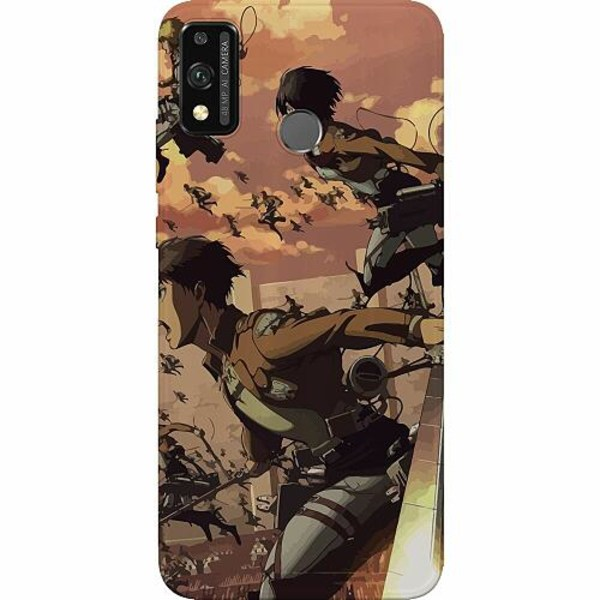 Huawei Honor 9X Lite Thin Case Attack On Titan
