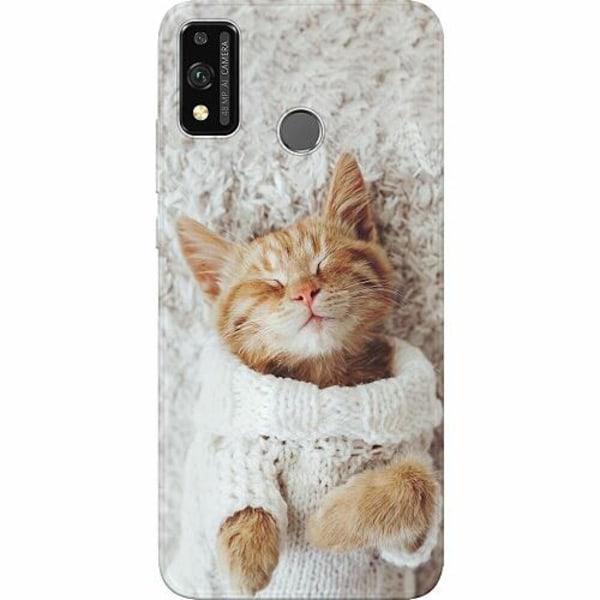 Huawei Honor 9X Lite Thin Case Kitty Sweater