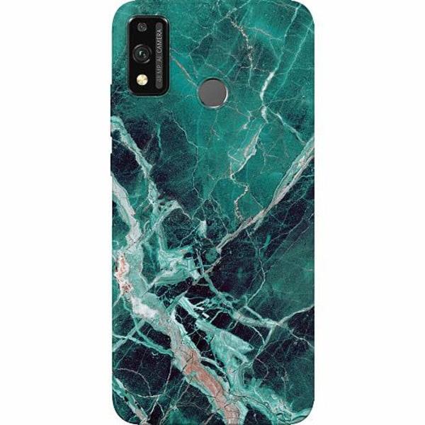 Huawei Honor 9X Lite Thin Case Marmor