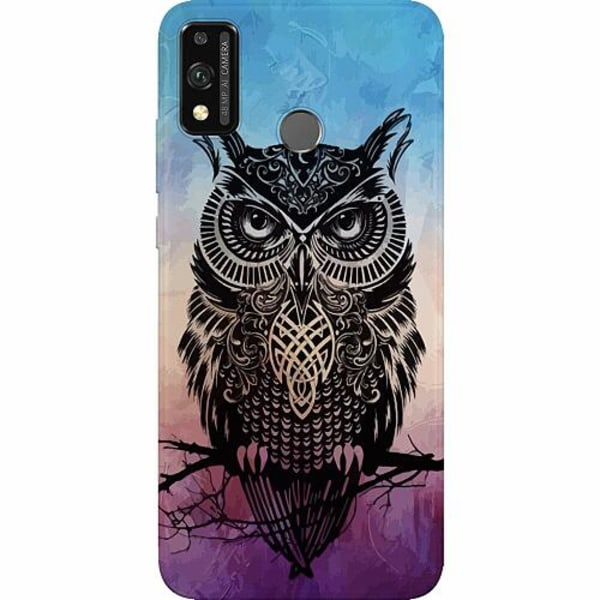 Huawei Honor 9X Lite Thin Case Owl