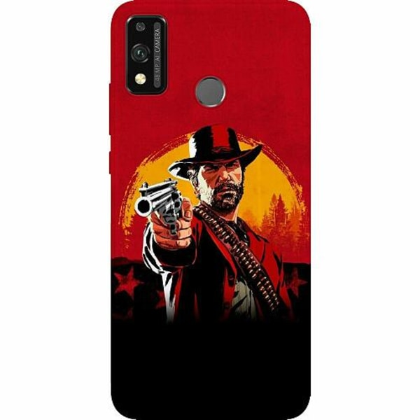 Huawei Honor 9X Lite Thin Case Red Dead Redemption 2