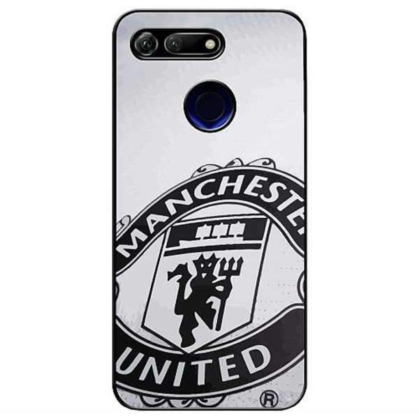 Huawei Honor View 20 Soft Case (Svart) Manchester United FC