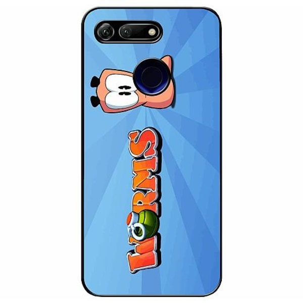 Huawei Honor View 20 Soft Case (Svart) Worms