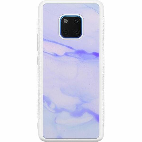 Huawei Mate 20 Pro Soft Case (Vit) Marine Ultra