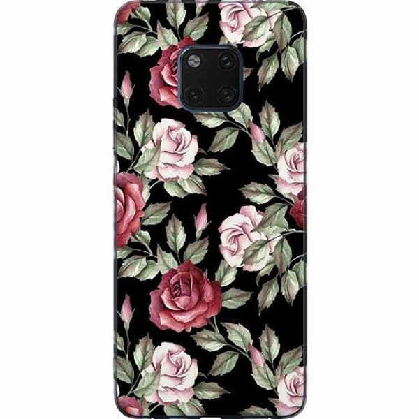 Huawei Mate 20 Pro Mjukt skal - Floral Dream