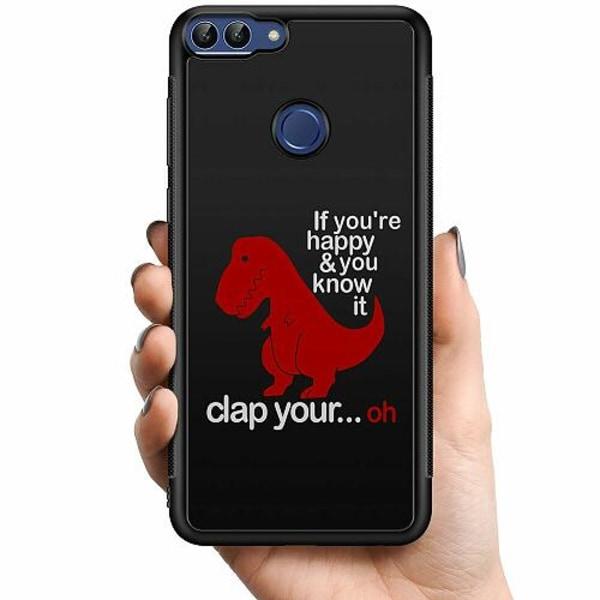 Huawei P Smart (2018) Billigt mobilskal - Dinosaurie
