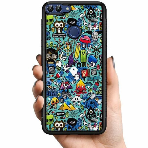 Huawei P Smart (2018) Billigt mobilskal - Stickers