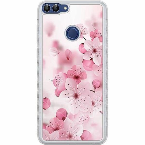 Huawei P Smart (2018) Soft Case (Frostad) Cherry Blossom