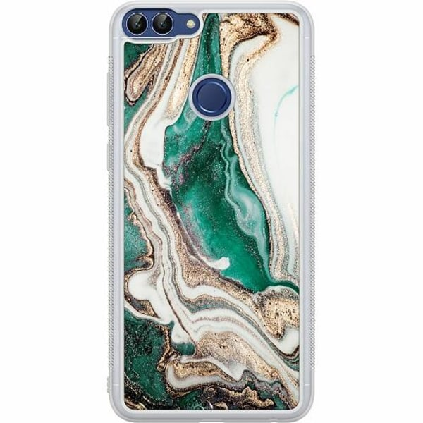 Huawei P Smart (2018) Soft Case (Frostad) Grön