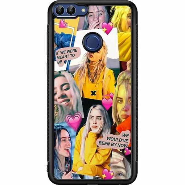 Huawei P Smart (2018) Soft Case (Svart) Billie Eilish 2021