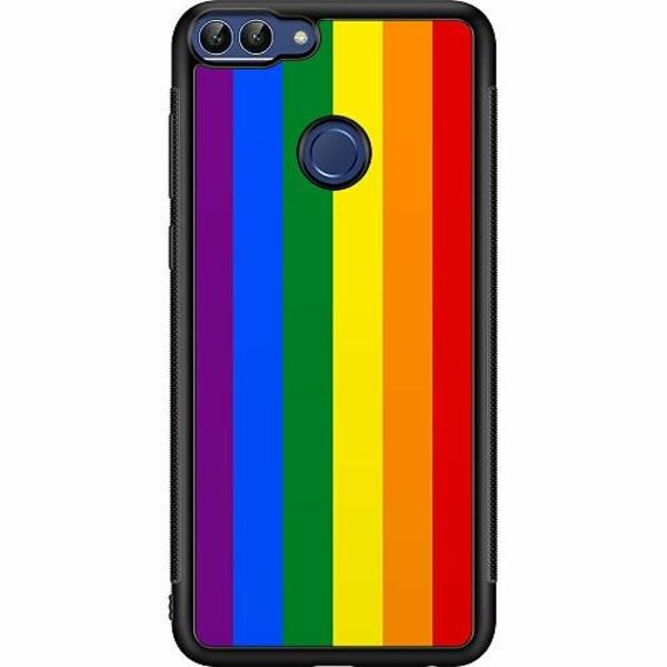 Huawei P Smart (2018) Billigt mobilskal - Pride Flagga