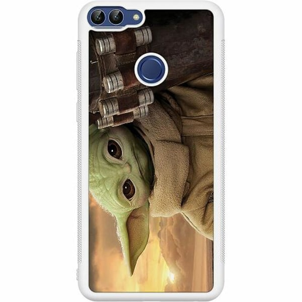 Huawei P Smart (2018) Soft Case (Vit) Baby Yoda