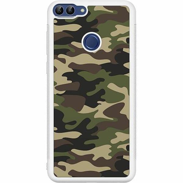 Huawei P Smart (2018) Soft Case (Vit) Militär