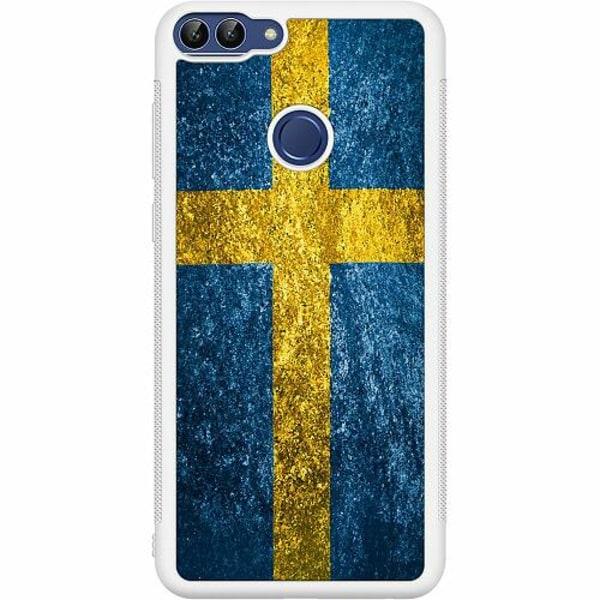 Huawei P Smart (2018) Soft Case (Vit) Sverige