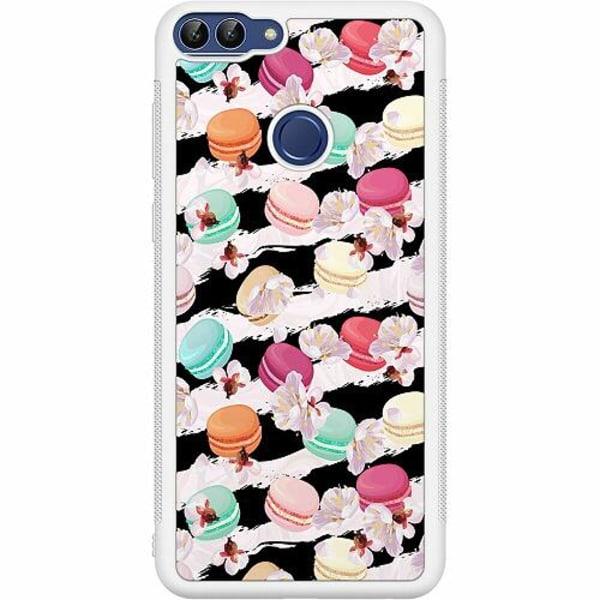 Huawei P Smart (2018) Soft Case (Vit) U Macaron Me Crazy