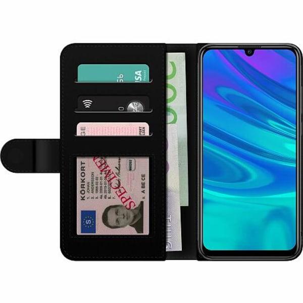 Huawei P Smart (2019) Billigt Fodral Blommor