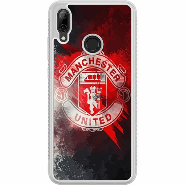 Huawei P Smart (2019) Soft Case (Frostad) Manchester United FC
