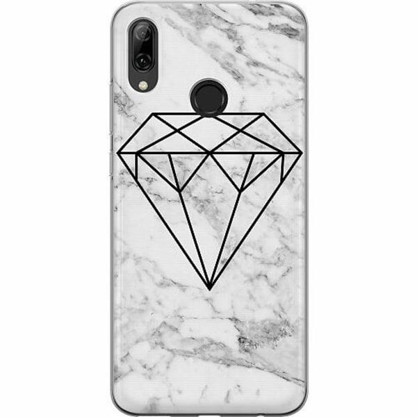 Huawei P Smart (2019) Mjukt skal - Marmor Diamant
